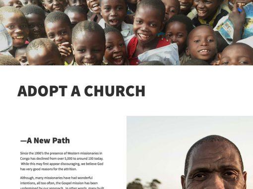 Hope for Congo Mobile Responsive Web Design & Brand Tweak