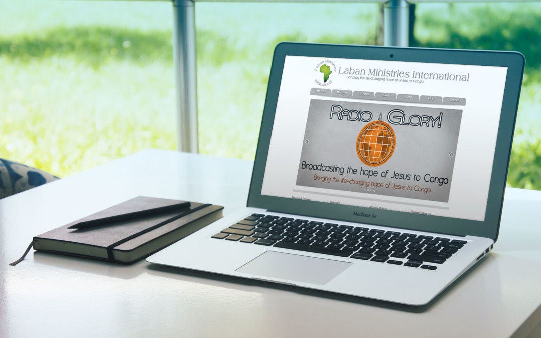 Laban Ministries International Website and Logo/Brand Design