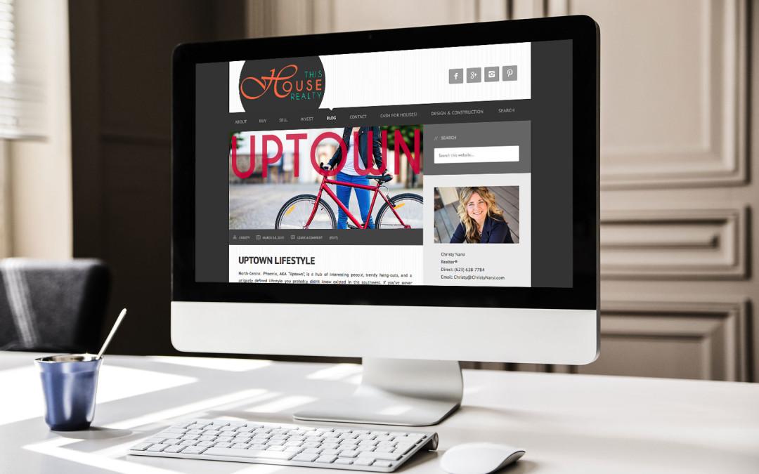 Real Estate Responsive Website Design