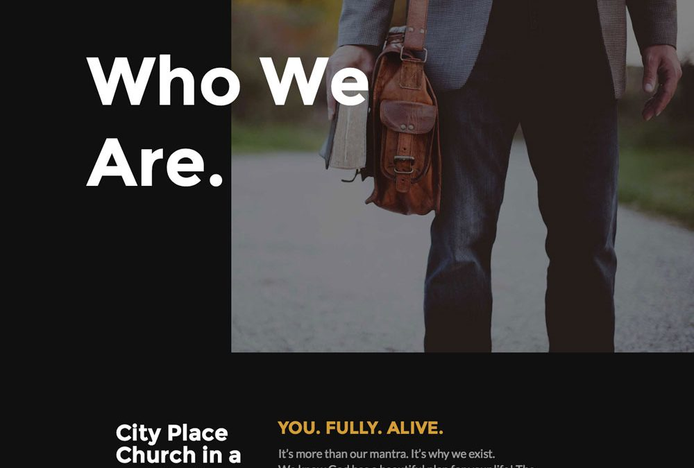 City Place Church Mobile Responsive Website
