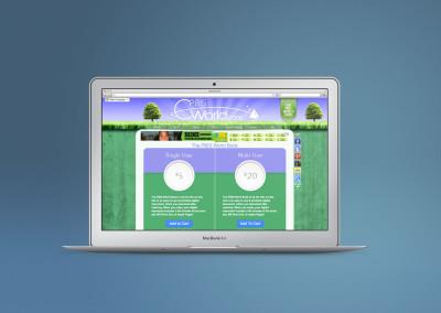 PBIS World behavior website custom design with ecommerce functionality