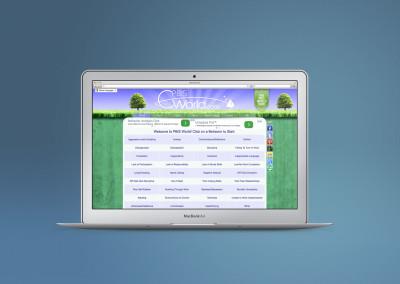 PBIS World behavior website custom design