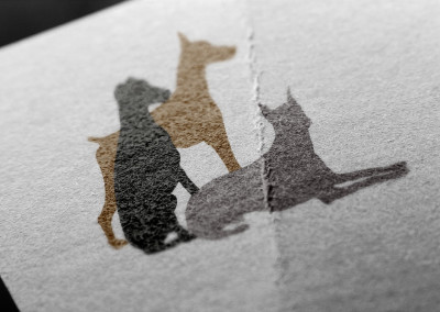 Gentle Doberman Logo Design