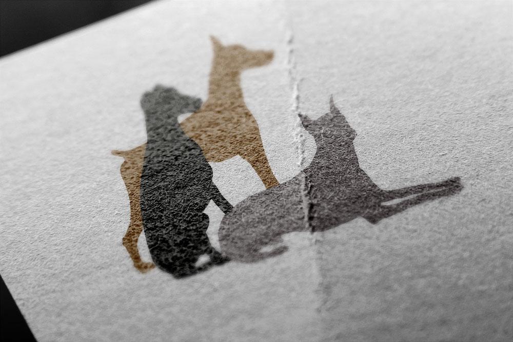 Gentle Doberman Logo Design