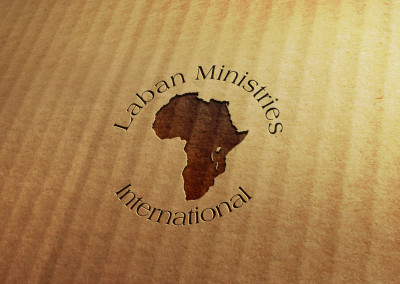 Laban Ministries Christian Mission in Congo Africa Logo design and brand identity