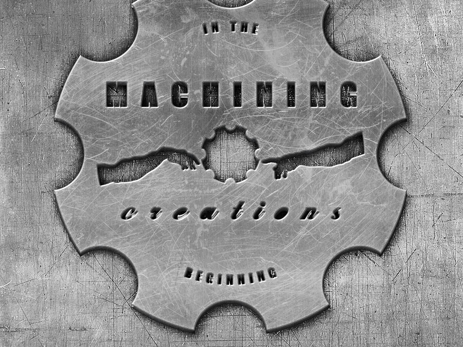 Machining Creations Machine Shop Business Logo/Brand Identity