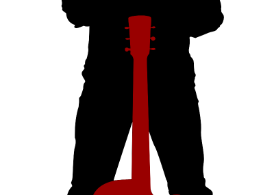 Musician Logo/Brand placed on various merchandise for sale