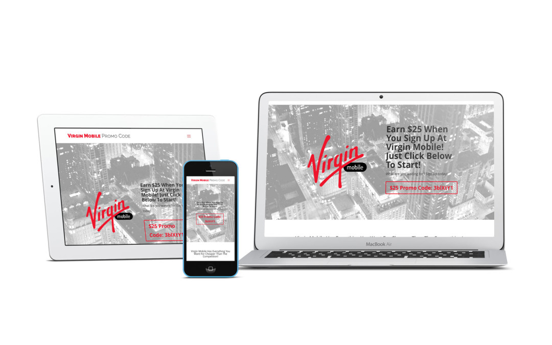 Virgin Mobile Promotional Discount Code Information Website