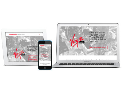 Virgin Mobile Promotional Discount Code Information mobile responsive Website