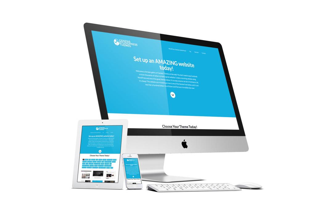 Genesis StudioPress and Child Theme Gallery Website