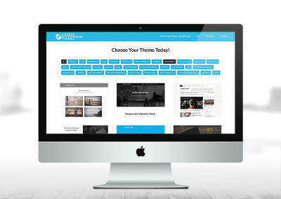 Genesis StudioPress and Child Theme responsive Gallery Website
